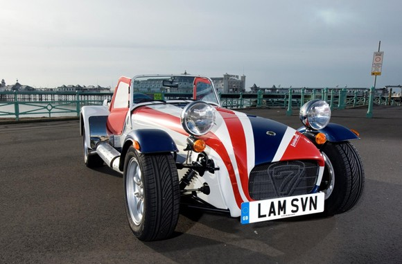 Caterham Seven Lambretta Special Edition