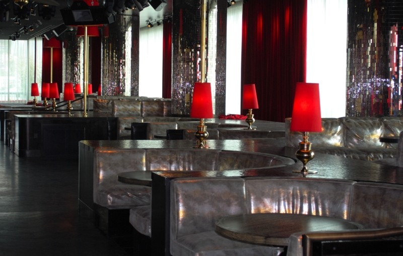Interior of the Drai's Hollywood night club