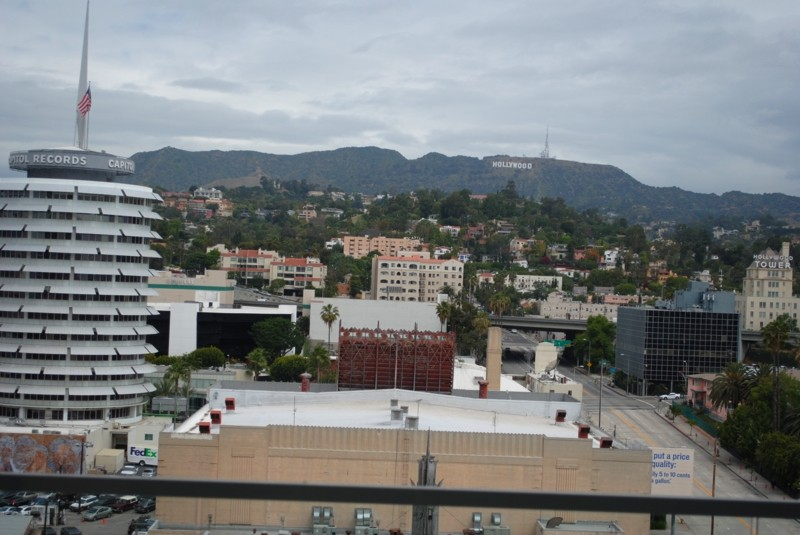 An Iconic Hollywood View