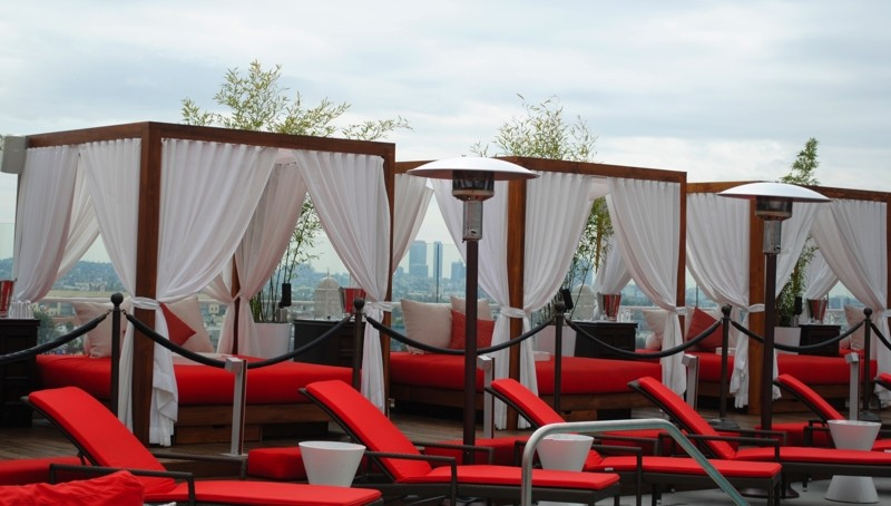 The Cabana's at Drai's Hollywood