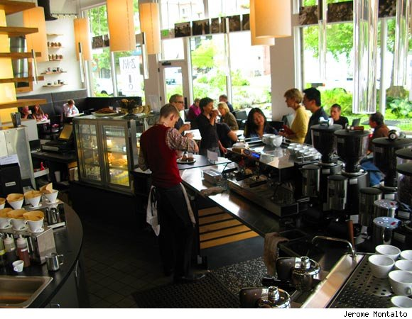 Zoka is nominated for a Luxist Award for Best Coffee House