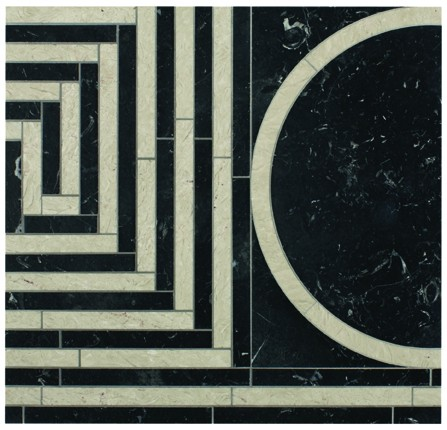 Michael S. Smith's Cosmati Emilio Grid Tiles