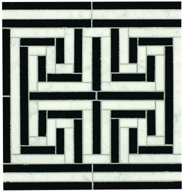 Michael S. Smith Cosmati Alexandria Border Tiles