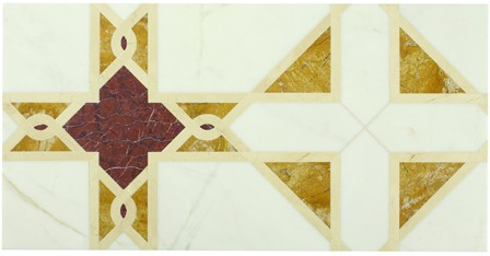 Michael S. Smith's Cosmati Chanilly Tile