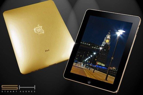 Solid Gold iPad