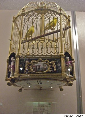 Birdcage clock