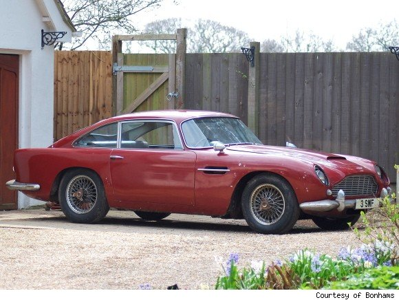 aston martins up for auction