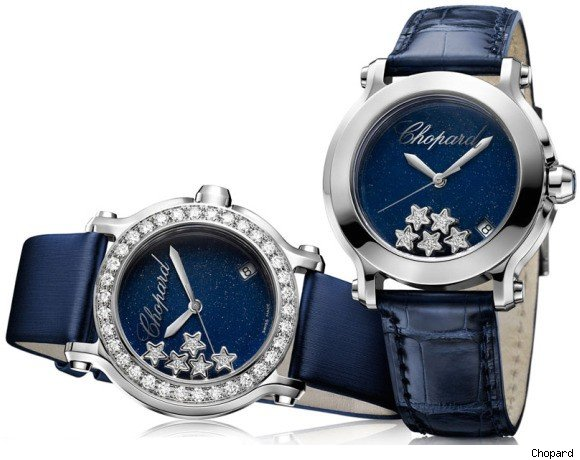 Chopard 150th Anniversary Happy Sport Star Diamonds Watch