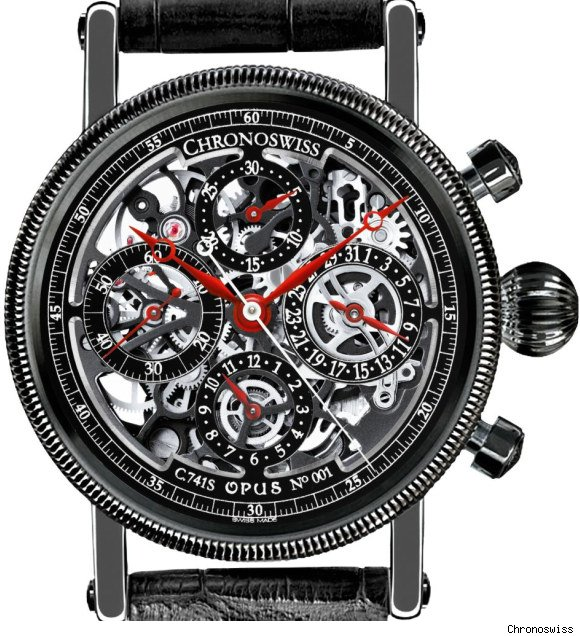 chronoswiss opus black magic watch