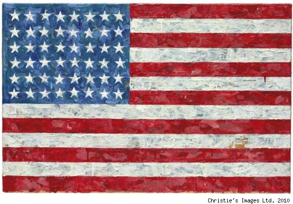 jasper johns flag