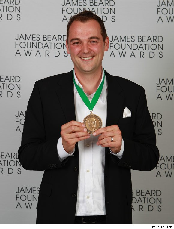 Daniel Humm of Eleven Madison Park won Best Chef, NYC.