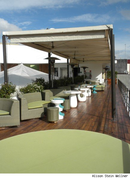 Condesa df Rooftop Bar, Around the Corner