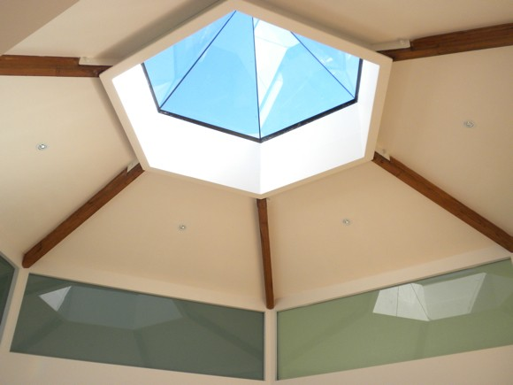 Skylight in Yoga Pavillion