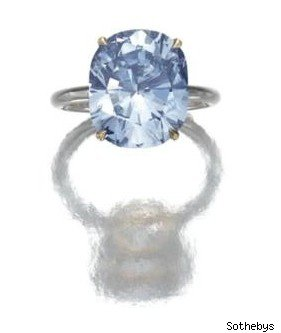 blue diamond 7.64 carat