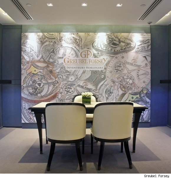 Greubel Forsey Private Room