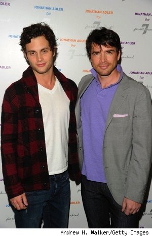 penn badgley and matthew settle