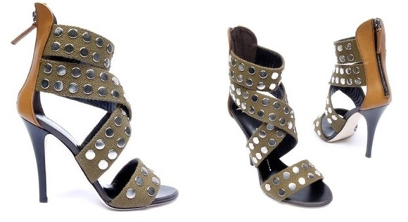 Giuseppe Zanotti Studded Sandals