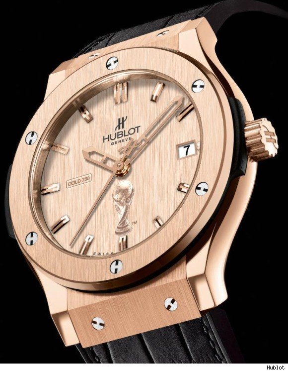 hublot FIFA World Cup Classic Fusion watch