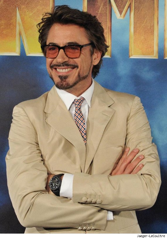 robert downey irnonman jaeger-lecoultre