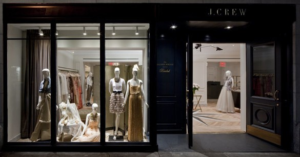 j crew storefront