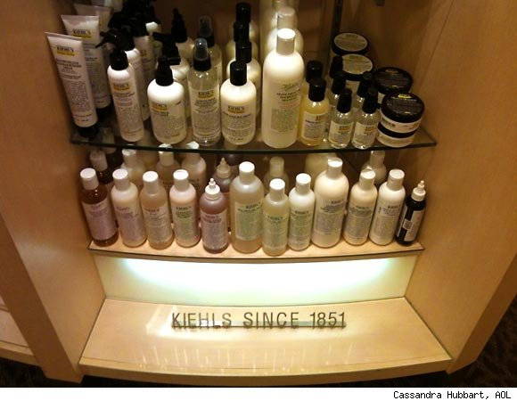 Kiehl's display