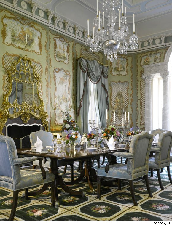 Dining Room at Albemarle House