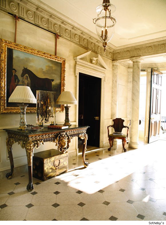 The Entrance Hall at Albemarle House
