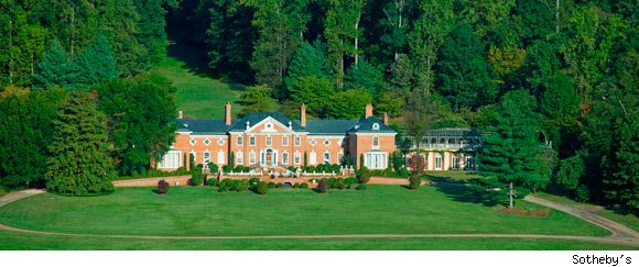 Billionaire Patricia Kluge to sell the contents of her home, Albemarle House, via a Sotheby's auction.