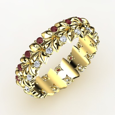 Wreath and Berry Band