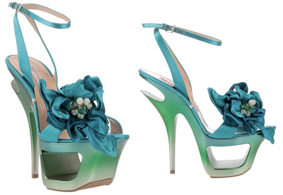 Gianmarco Lorenzi Flower Sandals