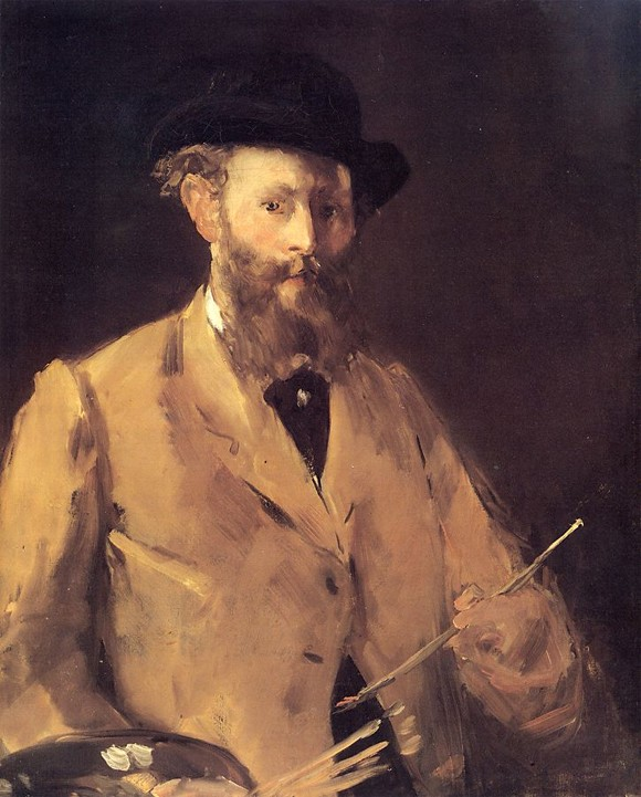manet self portrait