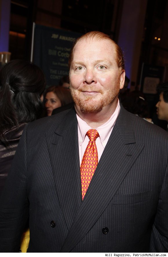 Mario Batali was nominated for Outstanding Restaurant for Babbo in New York.
