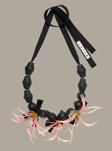 marni rubber necklace