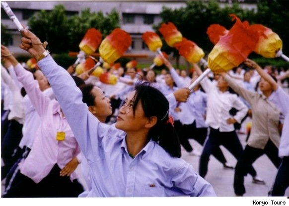Arirang Mass Games Preparation in North Korea