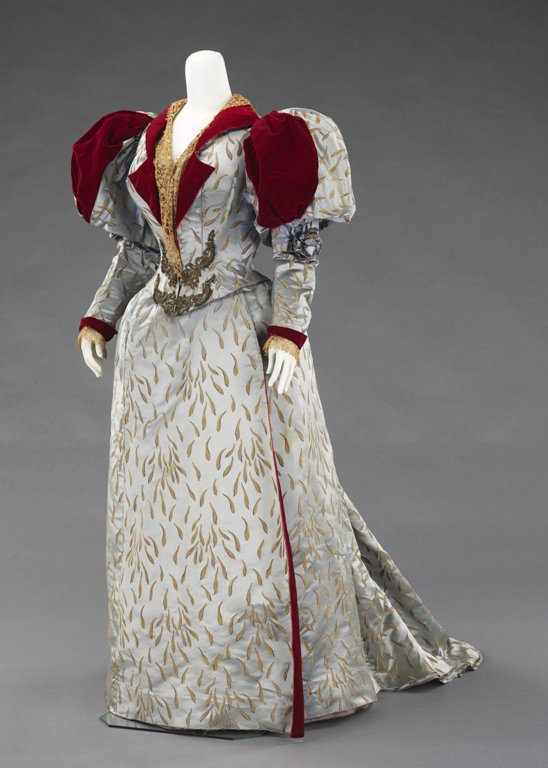 Evening Ensemble by Charles Frederick Worth, 1893