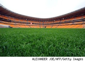 world cup pitch
