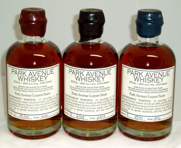 Park Avenue Whiskey
