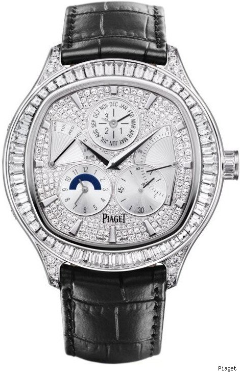 Piaget Emperador Full-Set Coussin Perpetual Calendar