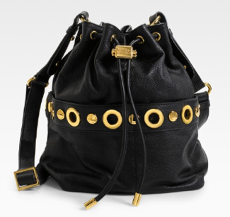 Badgley Mischka Drawstring Handbag