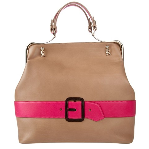 Roberta Di Camerino Calf Leather Bag
