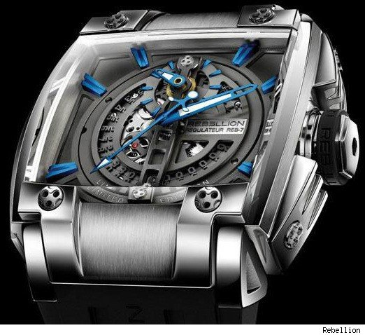 Rebellion Regulator REB-7 Blue Version Watch