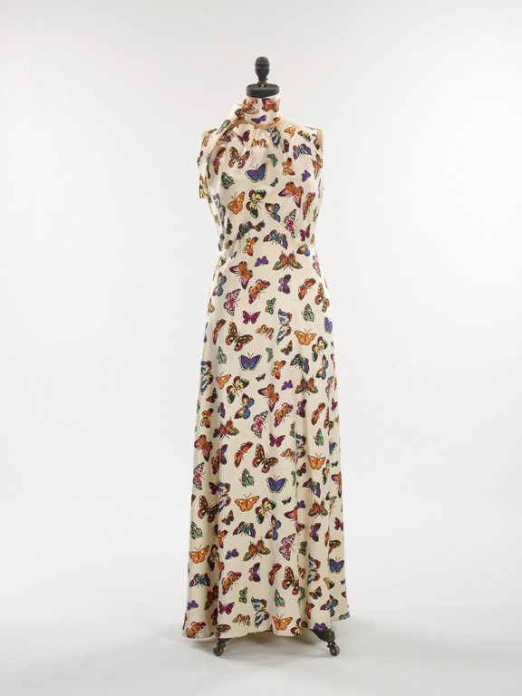 Silk Evening Dress by Elsa Schiaparelli, 1937