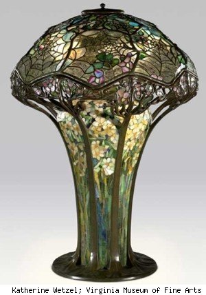 tiffany cobweb lamp