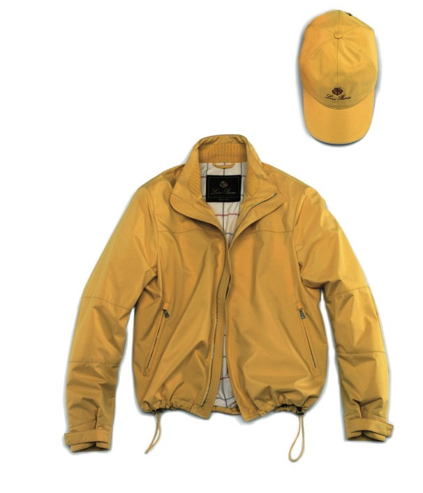 Jacket and cap
