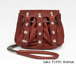 Alexander Wang Studded Drawstring Pouch