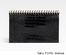 Alexander Wang Amber Spiral Notebook Clutch