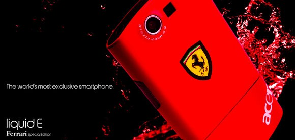 acer ferrari smartphone