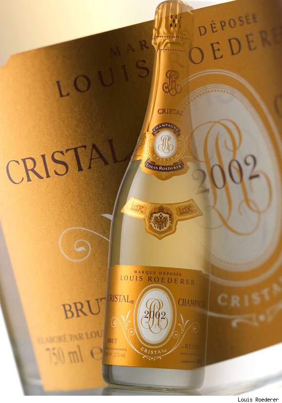 Louis Roederer's Cristal Champagne