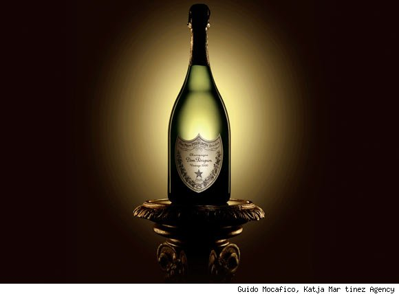 Vintage Dom Perignon Bottle
