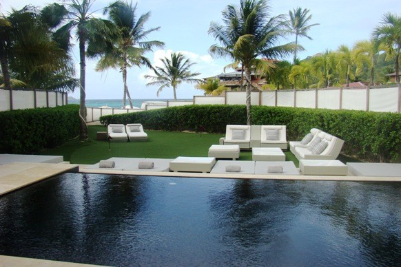 The Private Pool at Villa Rockstar, Eden Rock